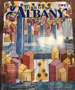 Cover of Discover Albany guide
